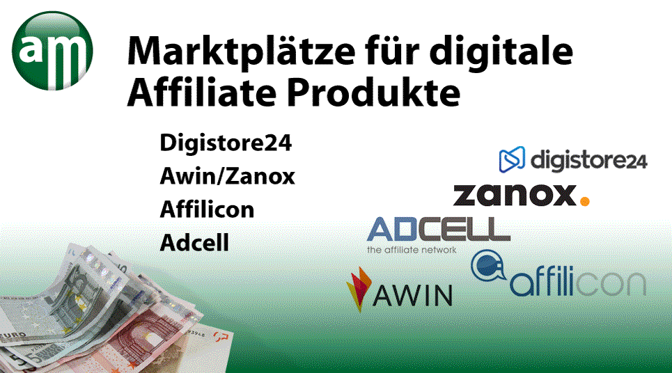 Affiliate Marketing / Die besten Affiliate Netzwerke