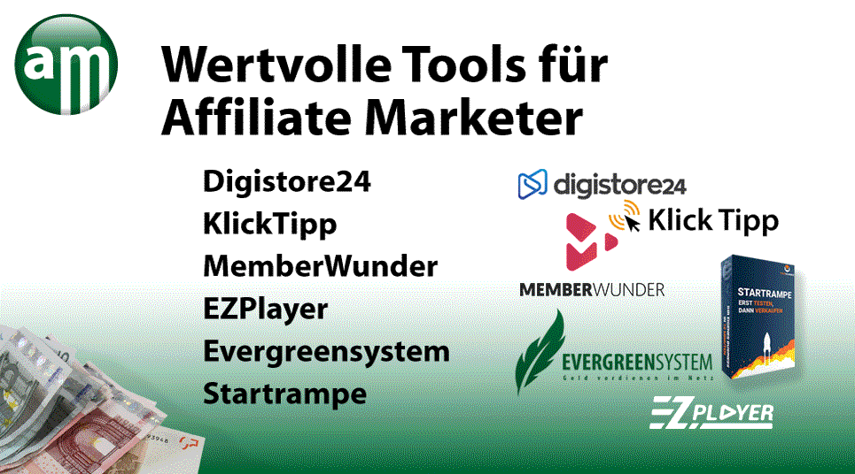 Affiliate Marketing / Wertvolle Affiliate Marketer Tools