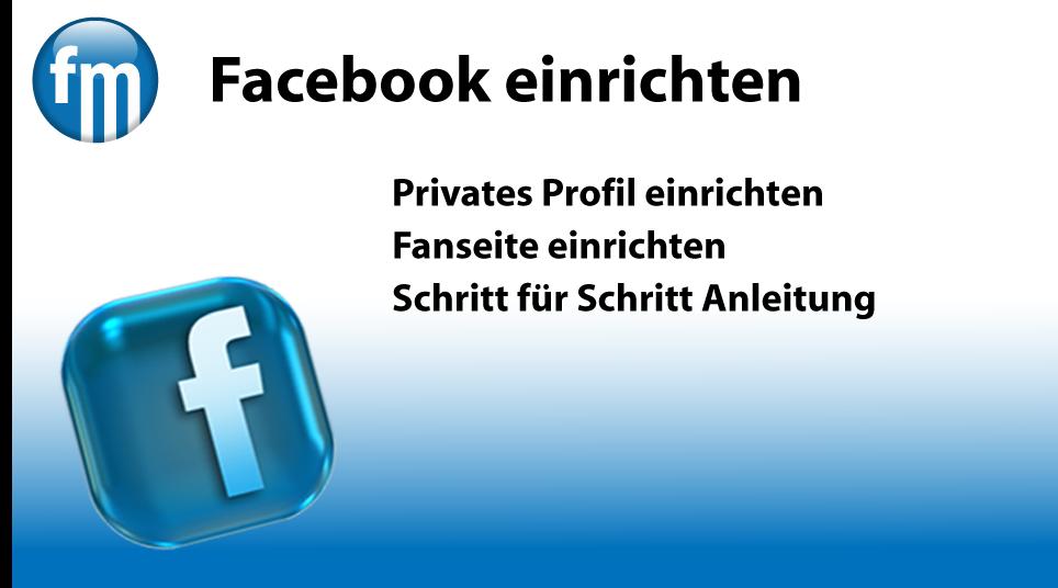 facebook einrichten