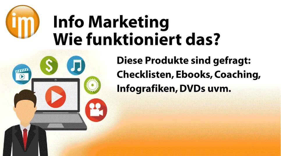 Info Marketing  Wie funktioniert das?
