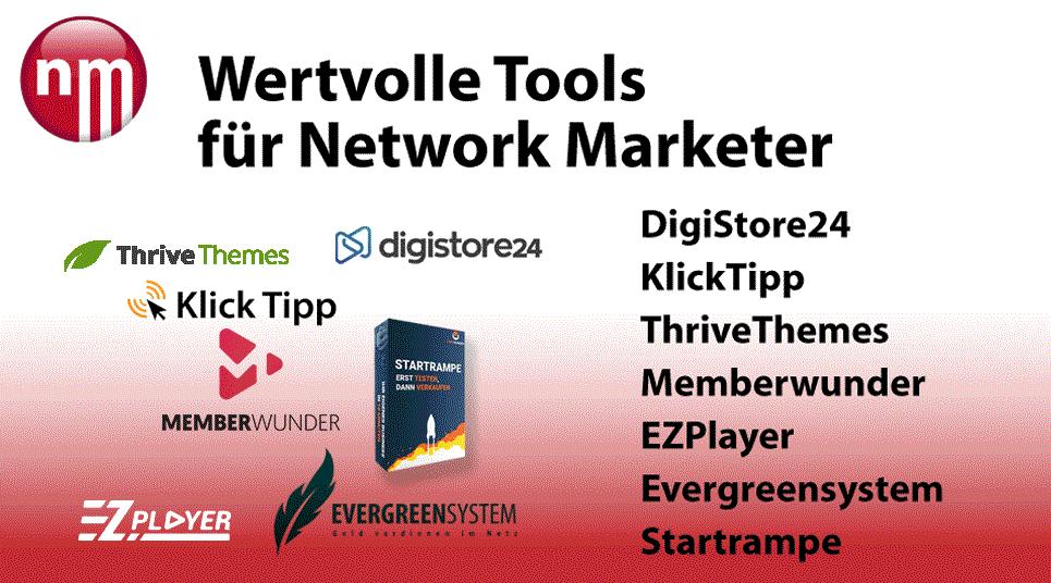 Wertvolle Tools für Network Marketer