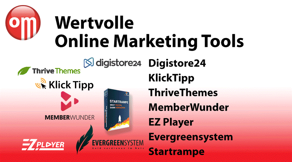 online marketing videokurs Wertvolle Online Marketing Tools