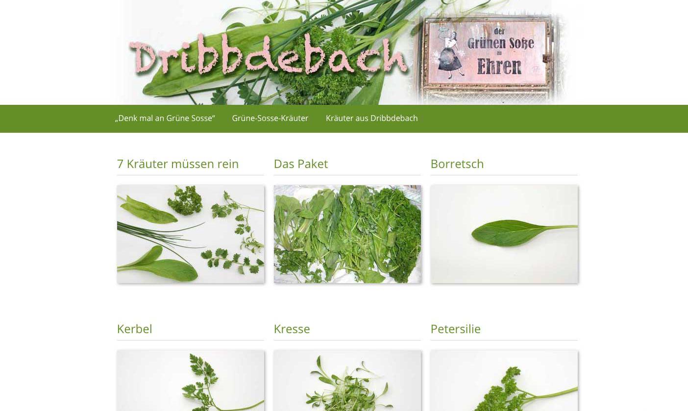 Dribdebach Grüne Sosse und mehr!